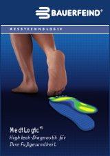Fußdruckmessung Medilogic by Bauerfeind