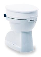Toilettensitzerhöhung Aquatec 90 mit Deckel