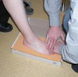 Abdrucknahme beim Patienten
